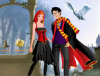 harry potter ginny weasley dressup games